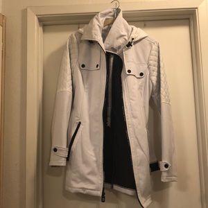 Michael kors white puff jacket